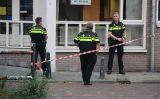 6 oktober Politie schiet man die vuurwapen trok neer in centrum Boomsluiterskade Den Haag