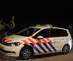13 oktober Nachtelijke landing traumaheli voor medische noodsituatie Meidoornstraat Monster
