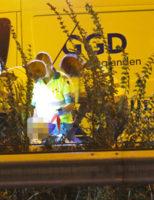 13 september A13 afgesloten na incident onder viaduct A13 Delft