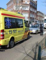 16 maart Aanrijding tussen twee voertuigen Apeldoornselaan Den Haag