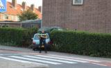 31 augustus Auto rijdt schuurtje binnen na ongeluk De Cordesstraat Hoek van Holland