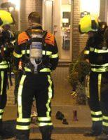 7 april Flinke rookontwikkeling bij schoorsteenbrand Hortensiastraat Monster