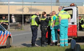 24 maart Ongeval tussen fietser en vrachtwagen Delfgauwseweg Delft