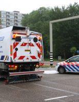 2 juni Flinke schade na aanrijding tussen twee voertuigen Prinses Beatrixlaan Delft