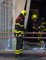 10 juni Felle uitslaande brand Martinus Nijhofflaan Delft