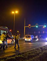 12 december Kop-staart aanrijding Provincialeweg Delft