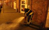 23 maart Brand in spouwmuur appartementencomplex Hoefkade Den Haag