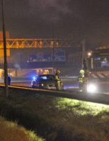 2 april Auto brand volledig uit op vluchtstrook A4 Rijswijk