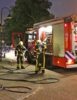6 oktober Bankstel in brand gestoken Buitenboogerd Delft (video update)