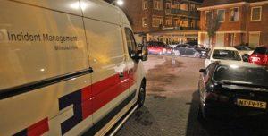 19 oktober Scooterrijder ten val door flink oliespoor Minckelersstraat Den Haag [VIDEO]