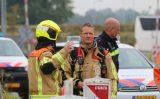 17 augustus Brandweer druk bezig met flink gaslek Spieringsweteringweg Rijswijk [VIDEO]