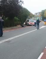 Bromfietser gewond na negeren stopteken Delft