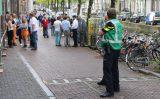 18 augustus Brandweer blust brandje in frituurpan Oude Delft Delft