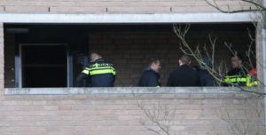 21 februari Geen gewonden maar wel veel rook bij brand in woning Suezsingel Delft