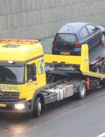 15 februari Verkeershinder door ongeval met 2 voertuigen A4 Schipluiden