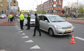 19 april Eén gewonde bij kop-staart aanrijding Rijswijkseweg Den Haag