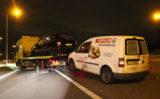 22 mei Automobilist slaat met voertuig over de kop A4