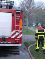 9 april Containerbrand zorgt voor flinke rookontwikkeling Zuiderpark Den Haag