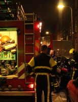11 april  Brandweer rukt uit voor een brandje in achtertuin Steijnlaan Den Haag