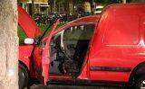 24 oktober Bestelbusje in brand gestoken Linnaeusstraat Den Haag