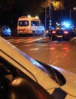 7 april Politieauto in botsing met scooterrijder Troelstrakade Den Haag