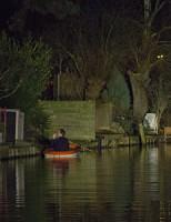 8 januari Inbreker duikt na inbraak het water in Delft