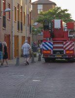 5 juli Gewonde bij brand in woning Operatie Mannahof Nootdorp