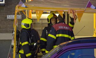 2 juli Brandweer rukt uit voor woningbrand Hugo de Grootstraat Delft