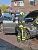4 april Brandweer rukt uit voor klein brandje in motorgedeelte van auto Kappeyne van de Coppellostraat Delft
