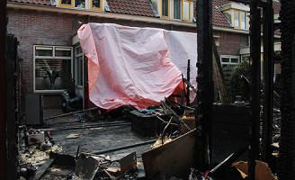 10 augustus Grote brand in schuurtjes Alyd Buserstraat