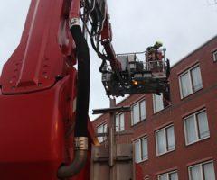 24 april Klein brandje in woning Schalk Burgerstraat den Haag