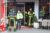 """11 oktober Klein brandje in spoelkeuken restaurant """"Athene Palace"""" Herenstraat Wateringen"""