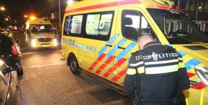 26 augustus Twee gewonden bij aanrijding tussen fiets en scooter Ellekomstraat Den Haag