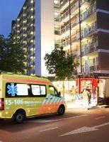 23 juni Brand gewoed in keuken flatwoning Papsouwselaan Delft
