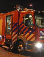 26 december Kat overleden na woningbrand Sonmansstraat Rotterdam
