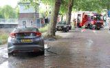 24 juni Hete kolen zorgen voor autobrand Kanaalweg Delft