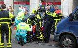 27 april Scooterrijder bekneld tussen bestelbus en personenauto Van Ruijsdaelstraat Den Haag