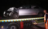 28 mei Auto over de kop geslagen Monsterseweg Den Haag