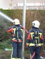 16 maart Uitslaande brand met veel rook in loods Nijverheidstraat Moerkapelle