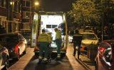 24 april Hulpdiensten redden vrouw uit het water Den Haag