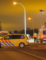 [TEKST UPDATE] 3 januari Twee zwaargewonden na aanrijding tussen scooter en wielrenner Klapwijkseweg Berkel en Rodenrijs