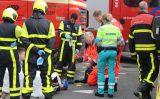 23 mei Fietser zwaargewond bij aanrijding met vrachtwagen Secretaris Verhoeffweg Naaldwijk