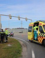 21 mei Motorrijder gewond bij aanrijding Westerleeplein De Lier