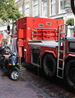 3 september Brand in Argentijns restaurant Peperstraat Delft