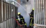 25 juni Veel rook bij buitenbrand Nijkerklaan in Den Haag