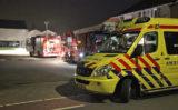 28 mei Brandweer blust brandje in schuur Groeneweg 's-Gravenzande