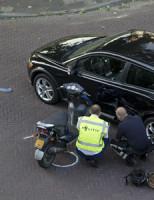 16 juli Gewonde en flinke schade na aanrijding Van der Lelijstraat Delft