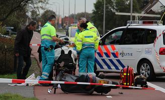 31 oktober Aanrijding auto versus scooterrijder Pijnacker