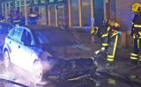 26 mei Brandweer blust autobrand Brueghelstraat Den Haag