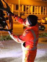 2 november Bestelbus in vlammen op Zuiderkroonstraat Den Haag [VIDEO] [UPDATE]